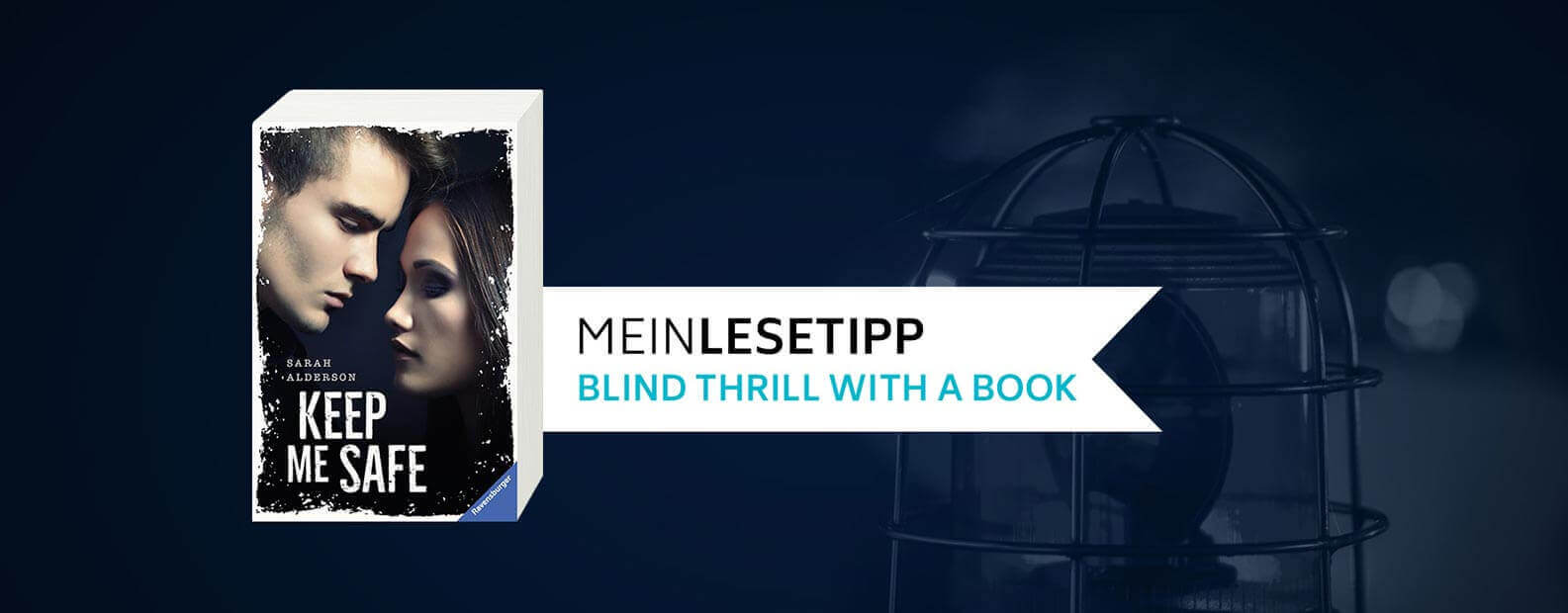 Blind Thrill with a Book